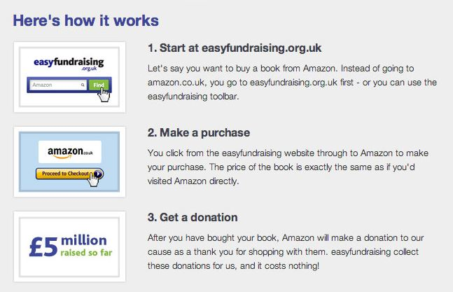 easyfundraing How it works Capture