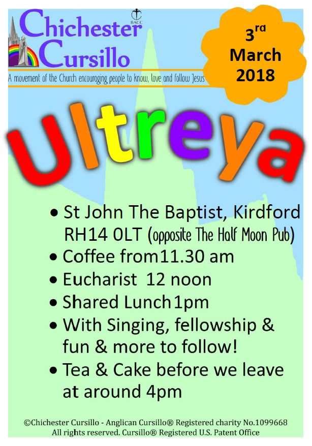 Diocesan Ultreya!... Kirdford @ St John the Baptist Church, Kirdford | Kirdford | England | United Kingdom